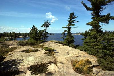Northern Beausoleil Island