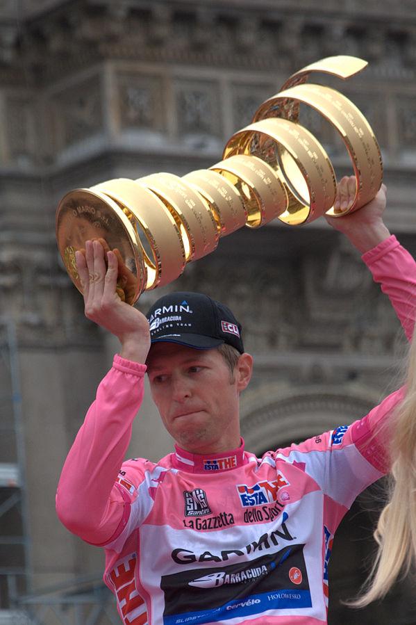 Ryder Hesjedal Wins 2012 Giro d'Italia