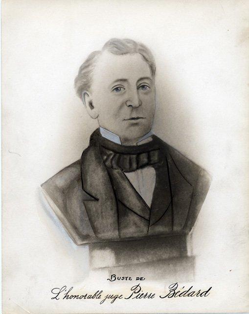 Buste du juge Pierre Stanislas Bédard (1762-1829)