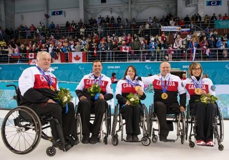 Curling Team Wins Gold, Paralympic Games 2014