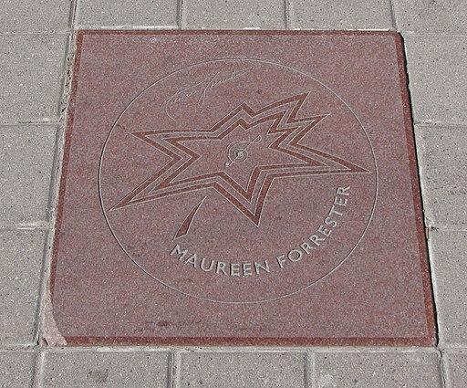 L'étoile de Maureen Forrester