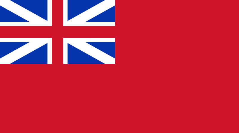 Le Red Ensign (1707)