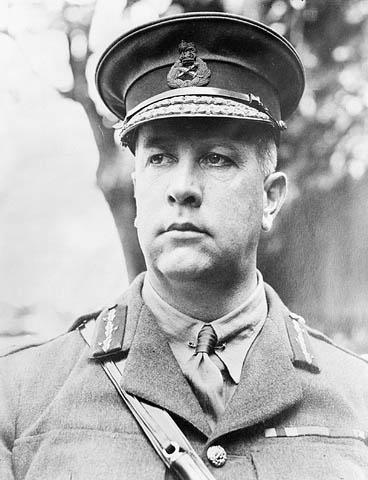 Le général Sir Arthur Currie en juin 1917.