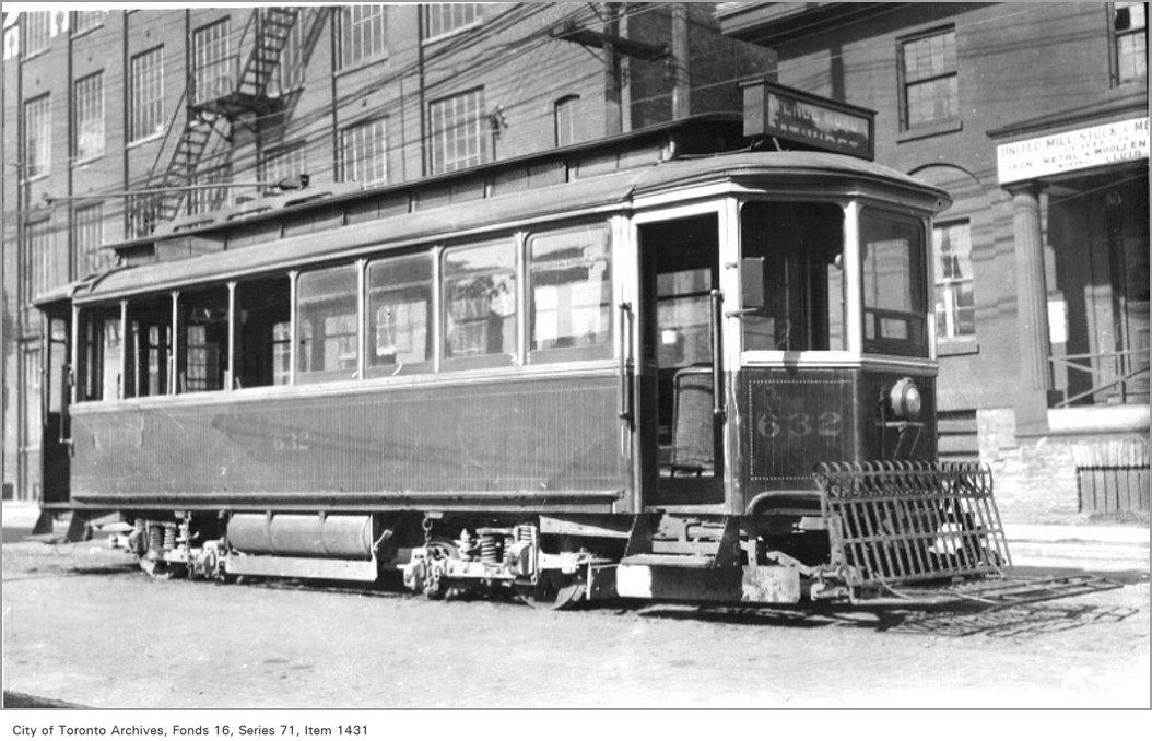 Voiture de la Toronto Railway Company, 1921