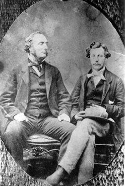 John Palliser and James Hector, explorers