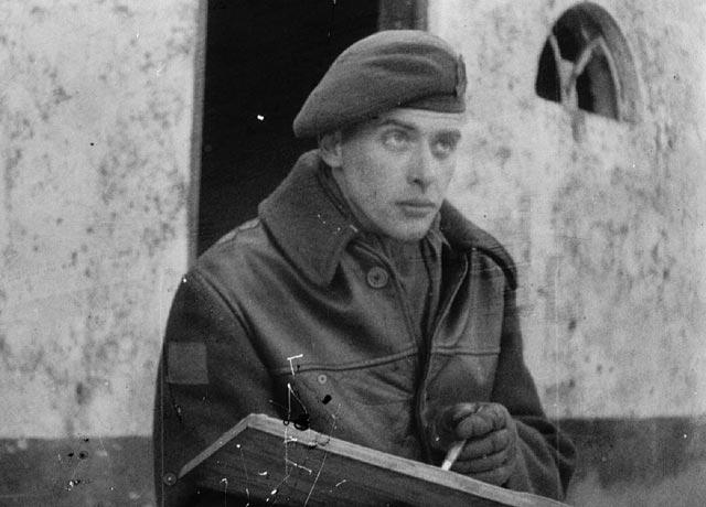 Alex Colville, war artist