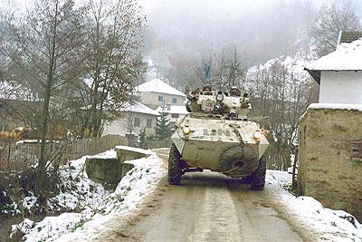 La guerre en ex-Yougoslavie