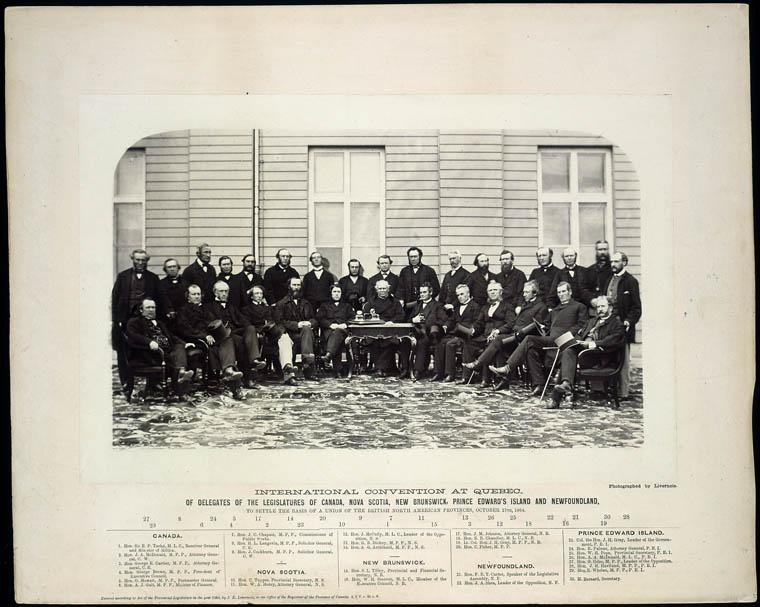 Delegates at the Québec Conference