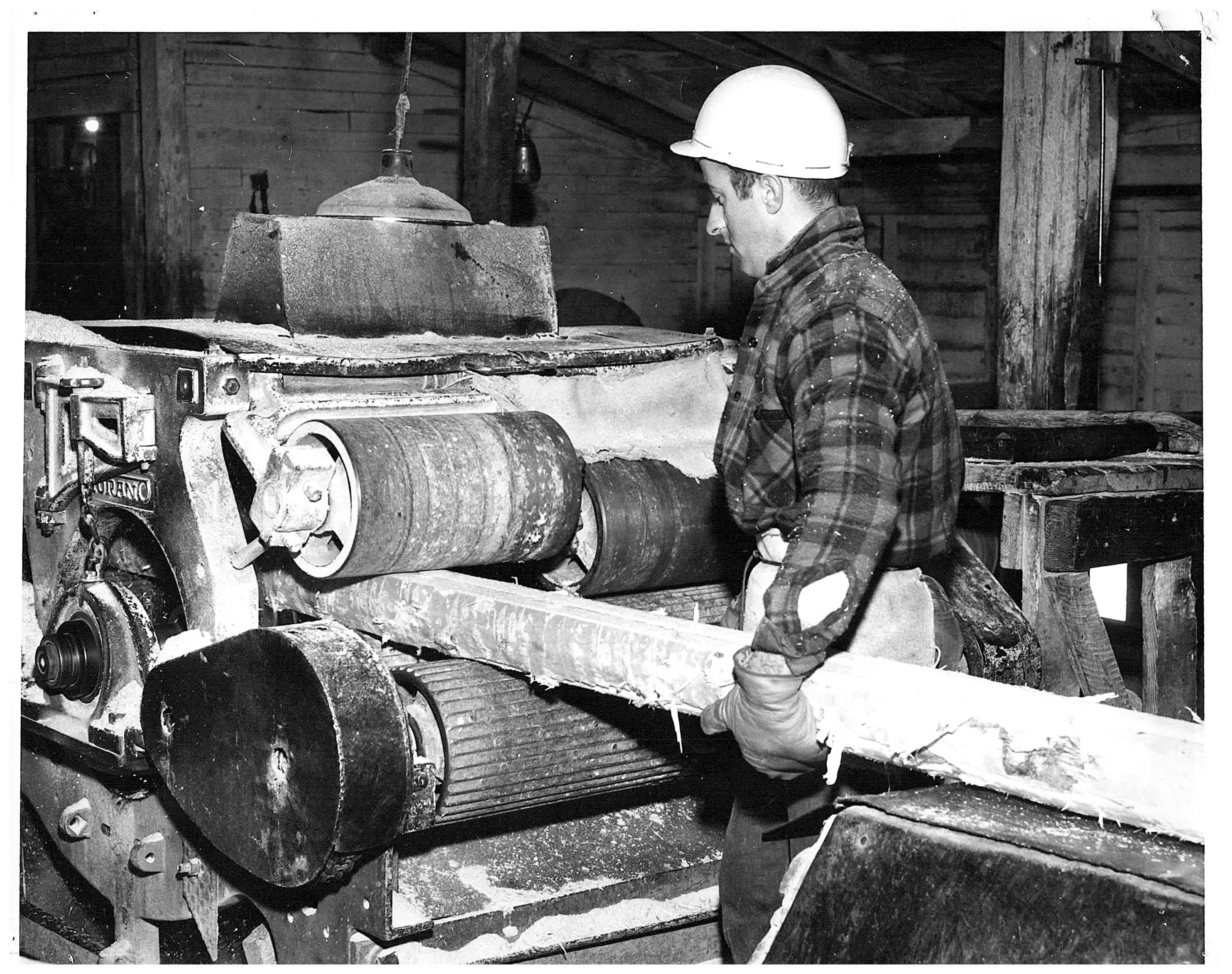 Sawmill operations in Dubreuilville