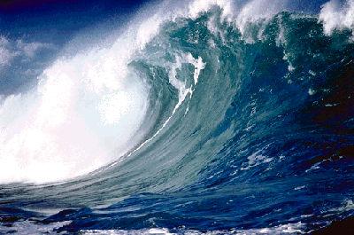 Ocean Wave Action