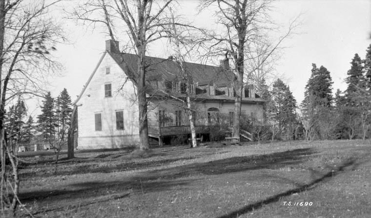 Manoir Dionne à Sainte-Anne de la Pocatière, Québec