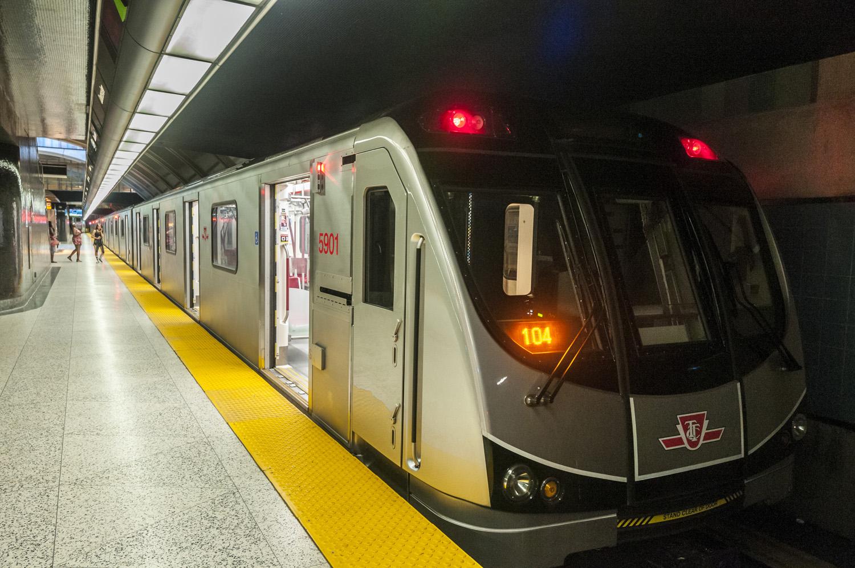 Toronto Subway Train