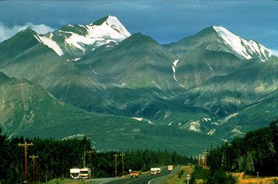 Alaska Highway, Kluane