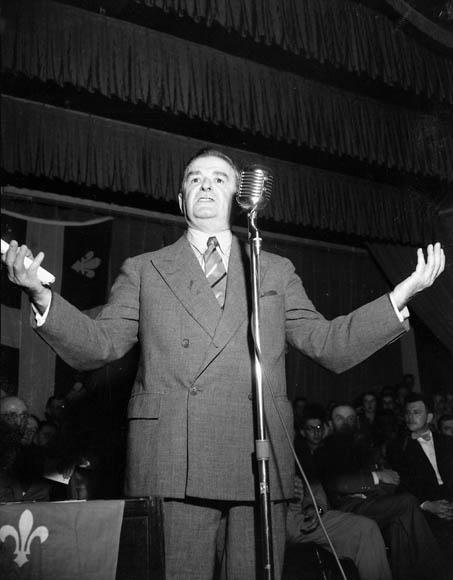 Maurice Duplessis, 1952