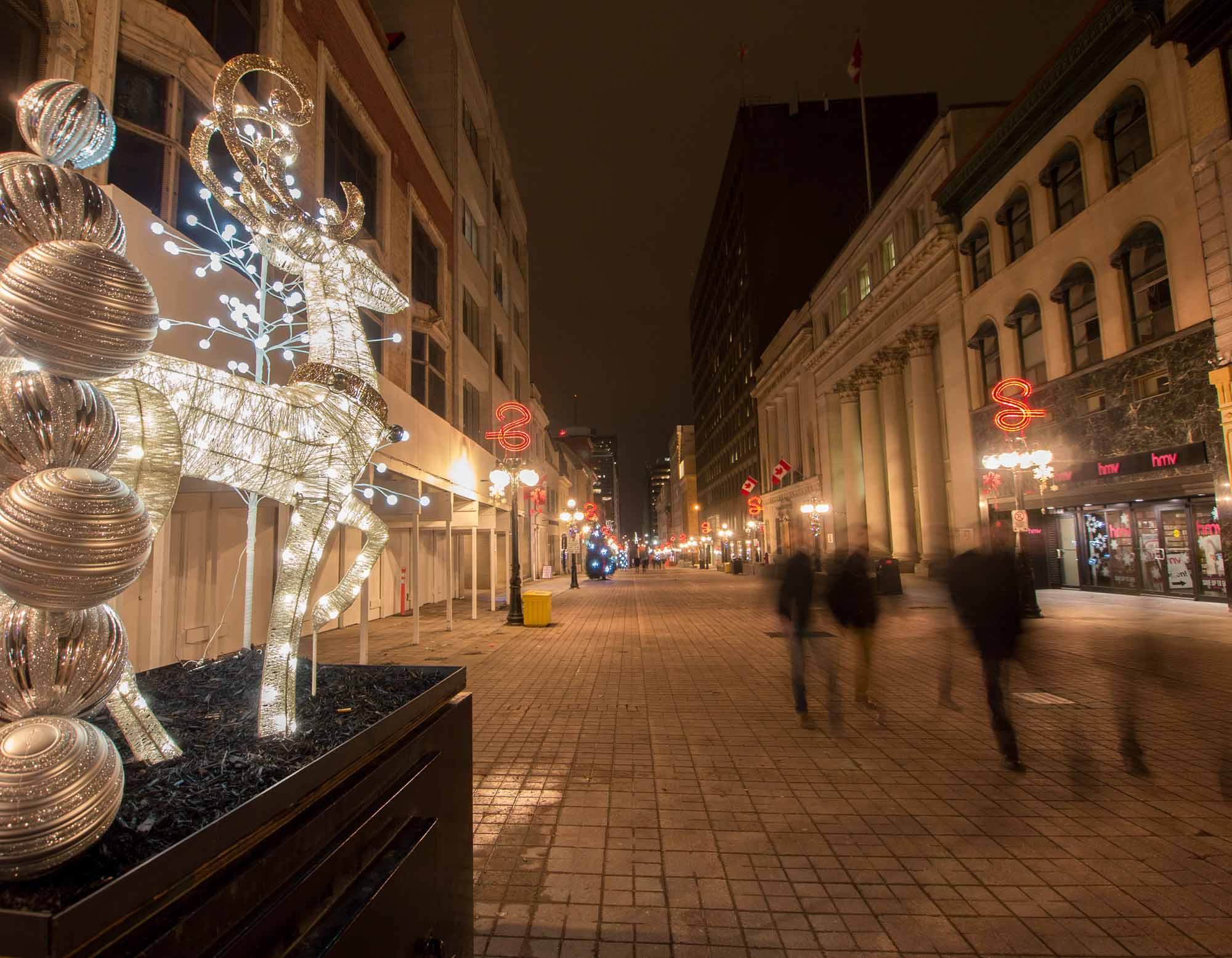 Sparks Street at Christmas