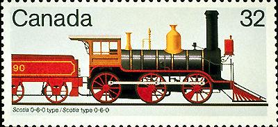 Scotia 0-6-0-Type Locomotive
