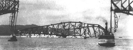 Effondrement du pont de Québec, 1916