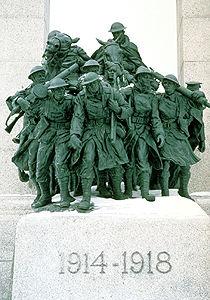 National War Memorial Sculpture