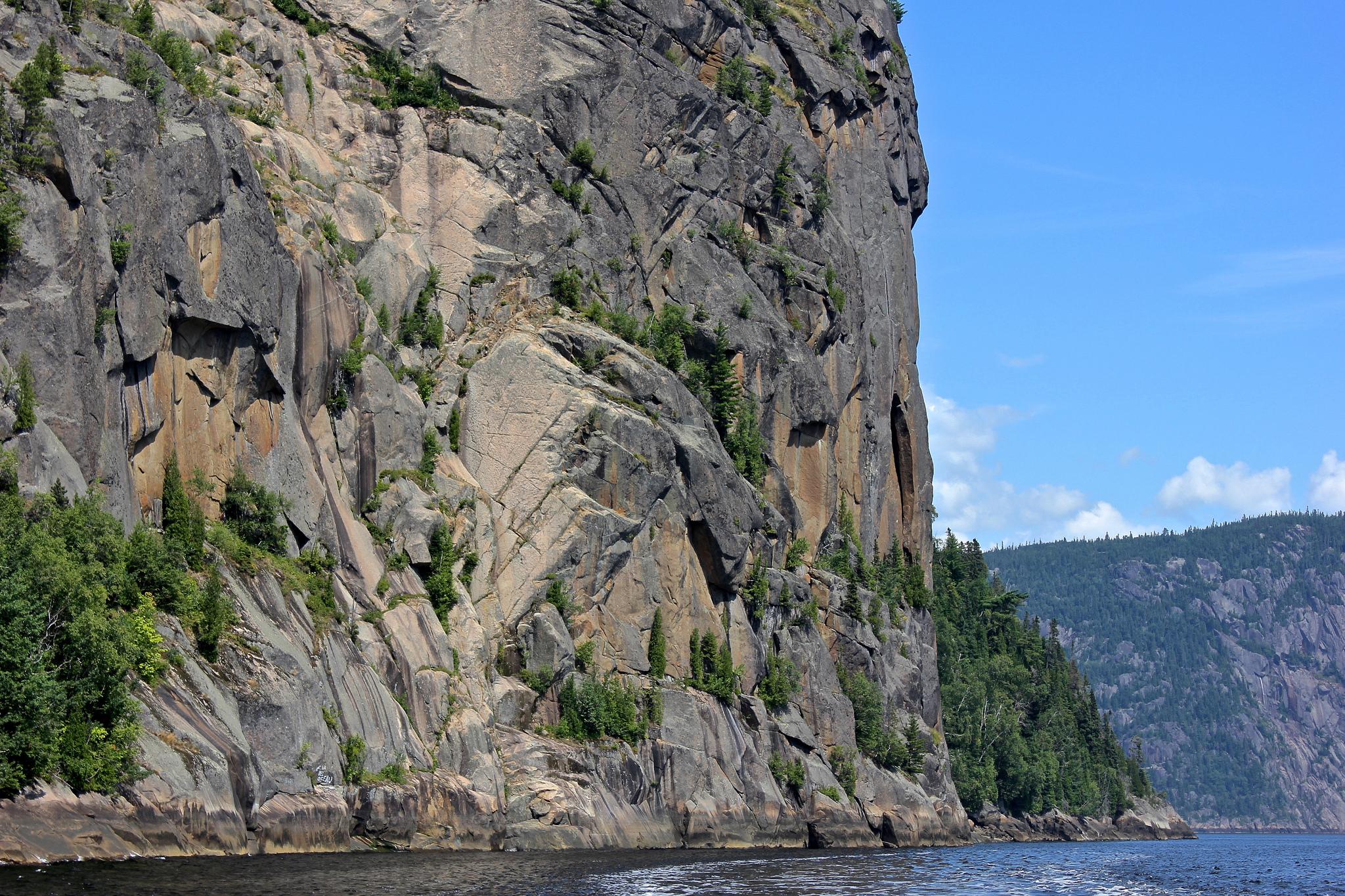 Saguenay River Fjord