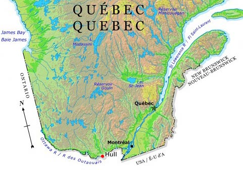 Ottawa On Map Of Canada.Ottawa River The Canadian Encyclopedia