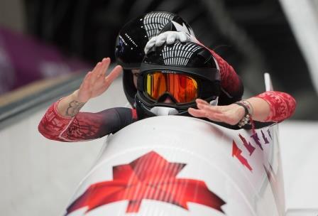 Humphries and Moyse, Gold Medal Run, Sochi 2014