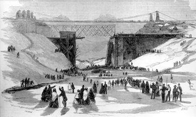Railway Disaster, Desjardins Canal