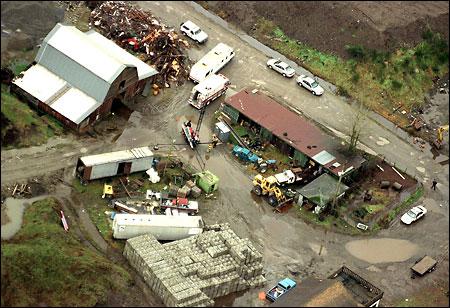 ferme Pickton à Port Coquitlam, en Colombie-Britannique.