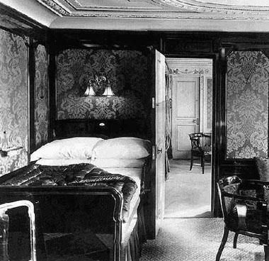 First-class accomodations, RMS <i>Titanic</i>