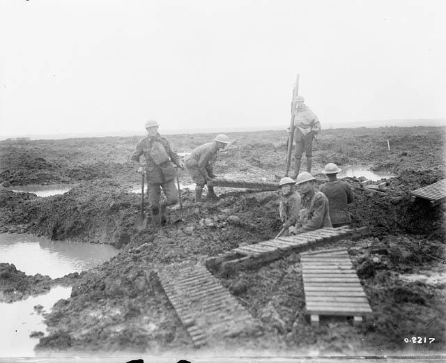 WWI-Passchendaele-mud