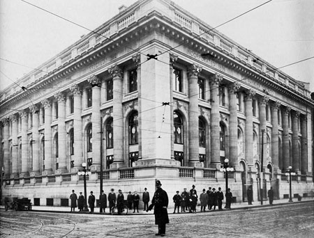 The former Bank of Toronto building (c. 1913)