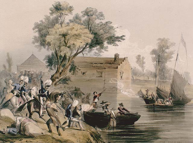 Rebelles à Dickinson Landing, Haut-Canada