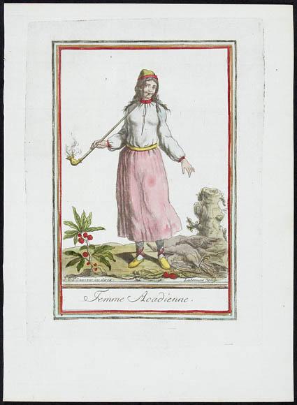 Femme Acadienne (Acadian Woman)