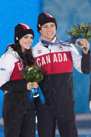 Tessa Virtue et Scott Moir, Sochi 2014