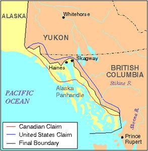 Alaska, affaire des fronti\u00e8res de l