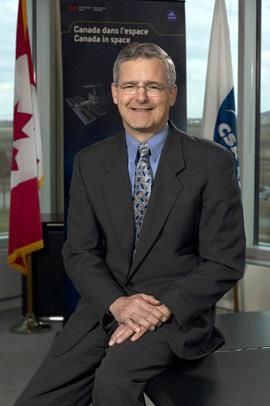 Marc Garneau, Canadian Space Agency President