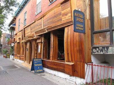 Restaurant Khyber Pass (cuisine afghane), Montréal