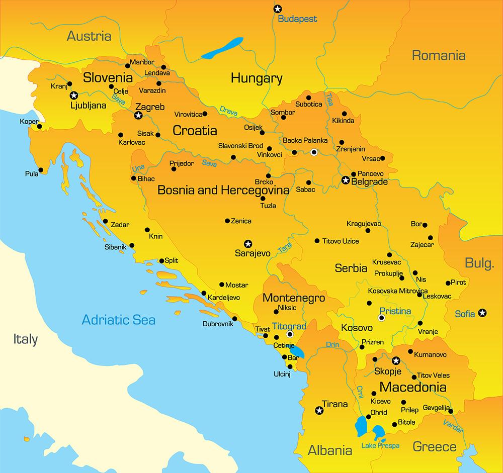 L'ex-Yougoslavie