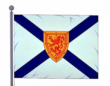 Nouvelle-\u00c9cosse, drapeau de la