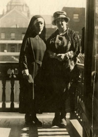 Marie Gérin-Lajoie and her mother Marie Gérin-Lajoie (née Lacoste)