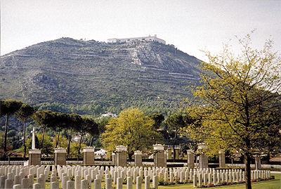 Cassino War Cemetery, Italy