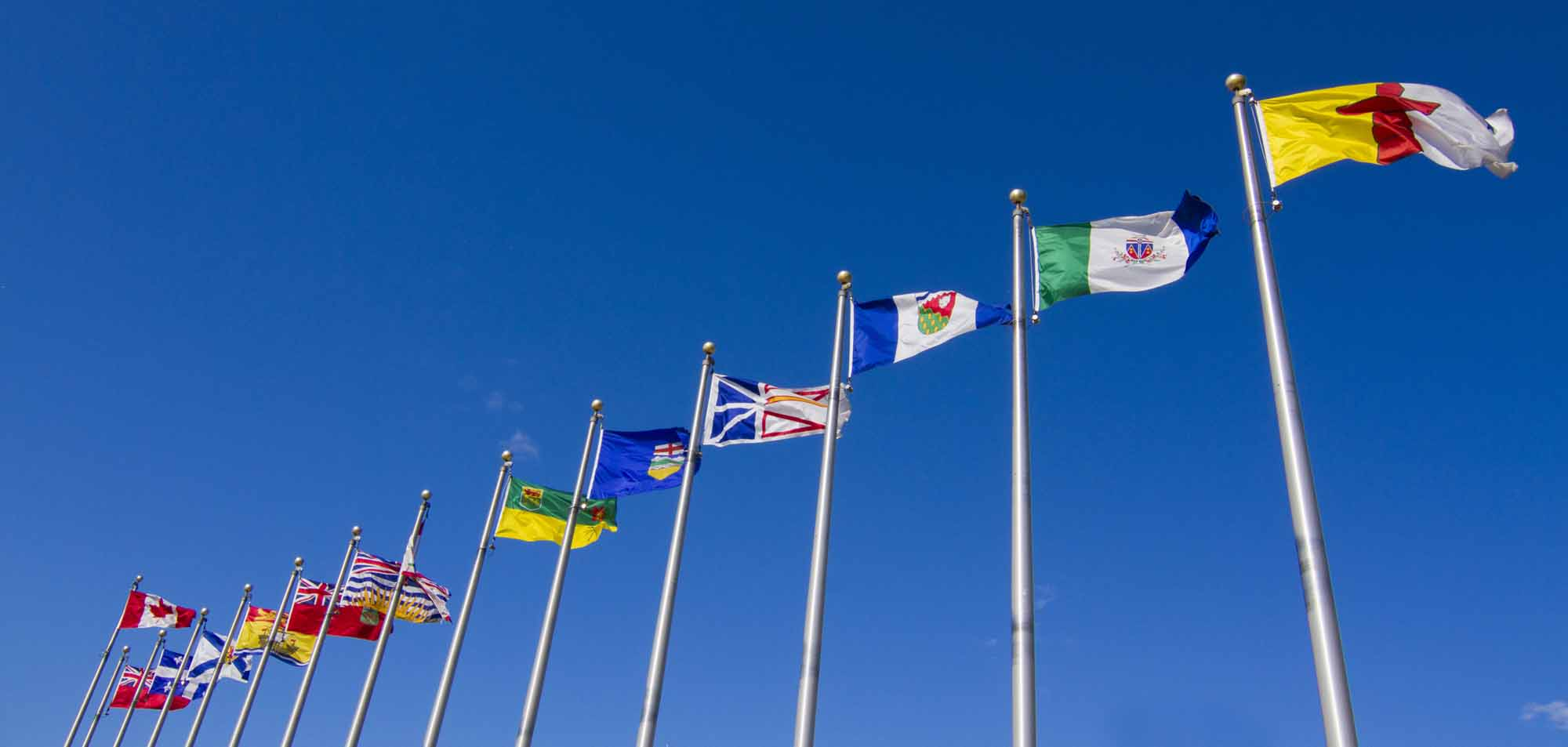 National/Provincial and Territorial Flags