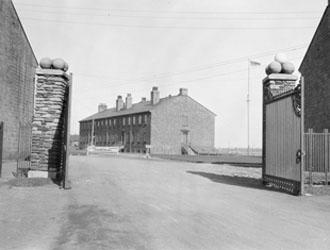 Stanley Barracks Gates