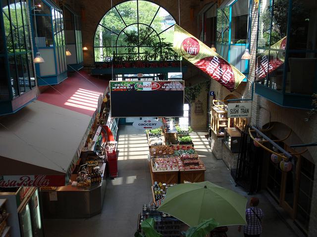 Le marché Forks, Winnipeg