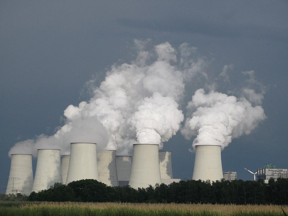 Centrale thermique alimentée au charbon