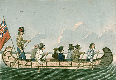 \u00ab Travelling by Canoe \u00bb