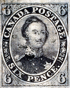 Canada Six-Pence Stamp
