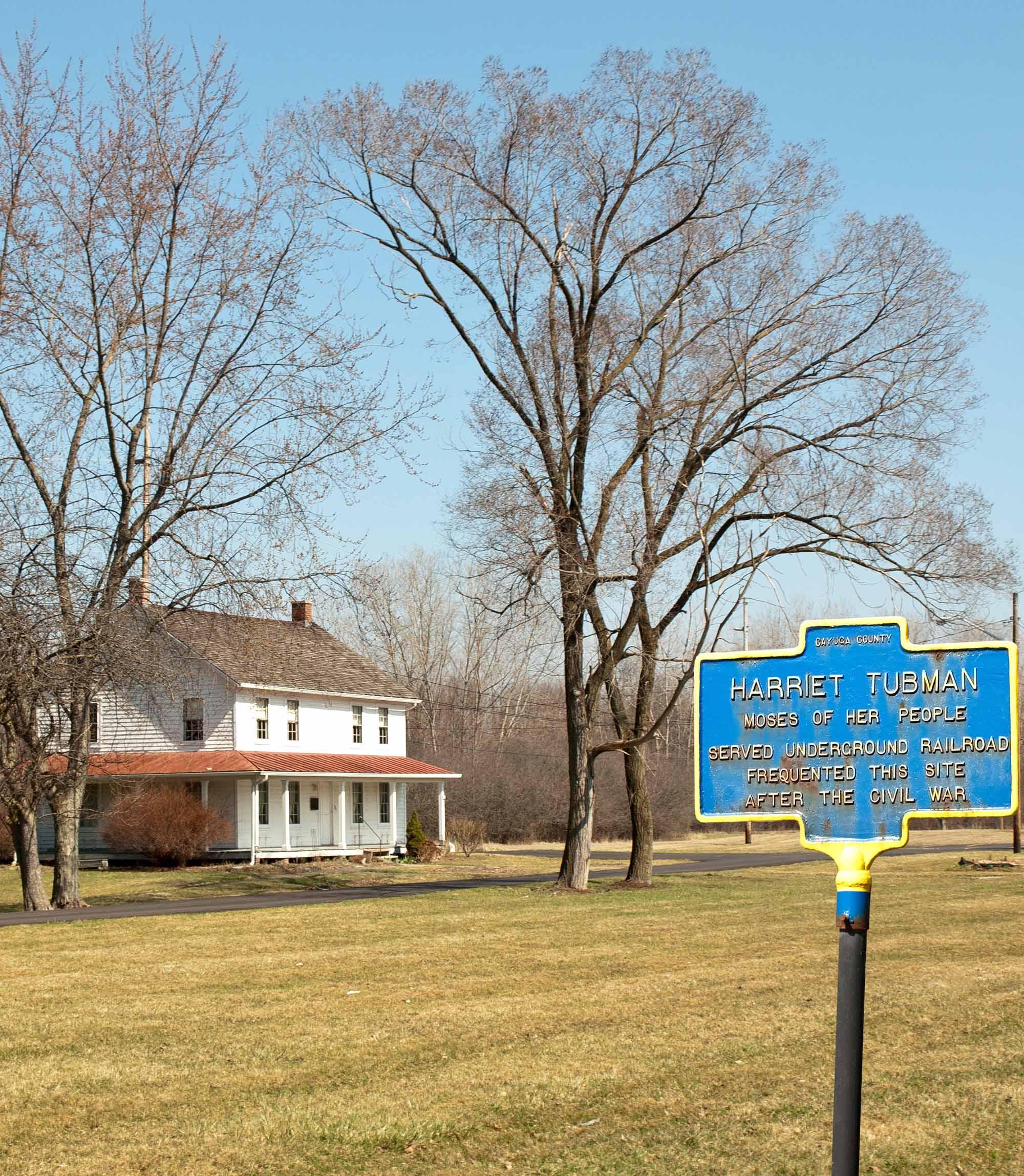 New York Home of Harriet Tubman