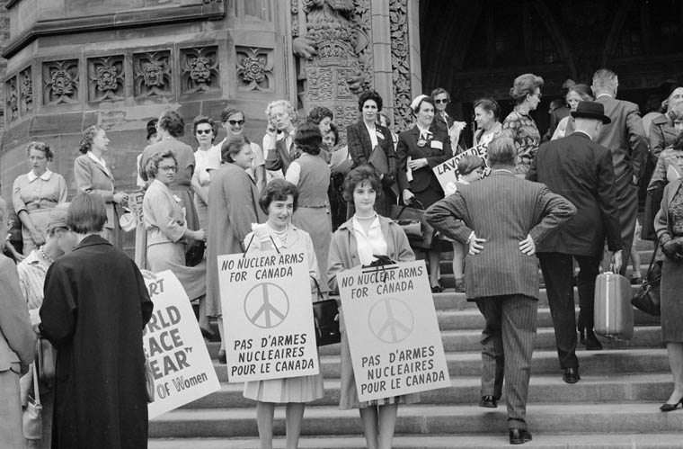 Peace Movement in Canada (Voice of Women)