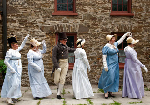 York Regency Dancers, Montgomery's Inn