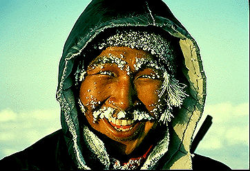 Inuit, chasseur